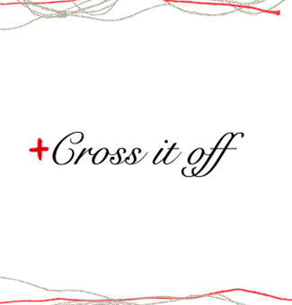 Cross if off