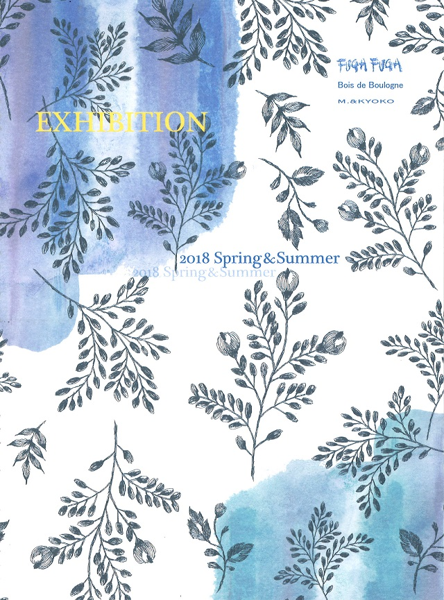 2018  FUGA FUGA SPRING & SUMMER Exhibitionの写真