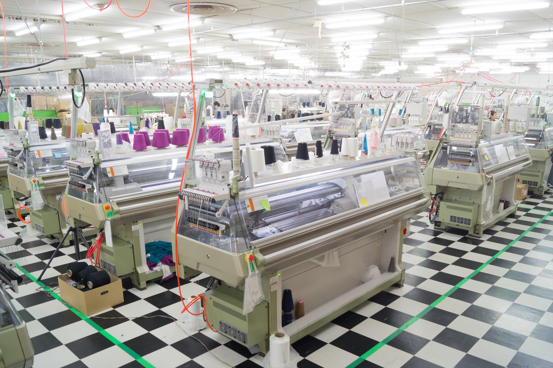 WWD 佐藤繊維/ホールガーメント工場についての写真
